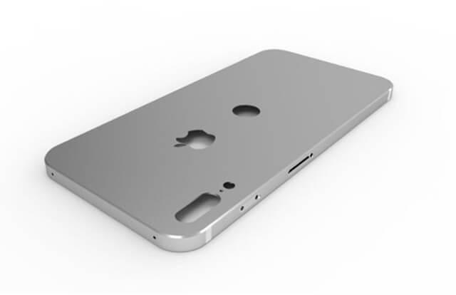iPhone 8 最新間諜照模型圖出現!Touch ID會在背後上?