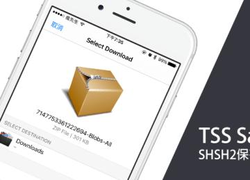 TSS Saver 免電腦!透過iOS設備也可以直接備份SHSH2