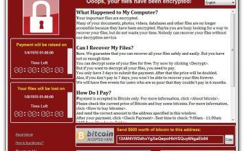 [教學] 檢查與防止 WanaCrypt0r 2.0最新變種勒索病毒肆虐