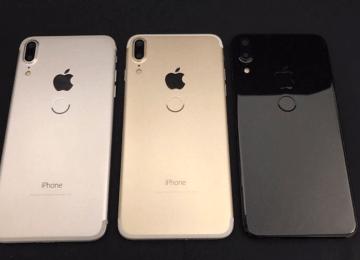 國外爆料神人曝光三款iPhone 8實體間諜照,背面多出Touch ID鍵?
