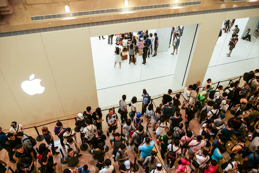 臺灣首間臺北101蘋果直營店Apple Store開幕人潮活動記錄 - 瘋先生
