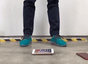 測試iPhone 8系列玻璃背蓋耐不耐摔?小心會變成蜘蛛網
