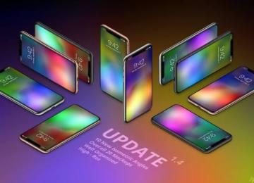 21張優質 iPhone X 七彩繽紛高畫質桌布分享