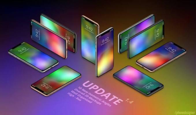 21張 iPhone X 七彩繽紛高畫質桌布分享