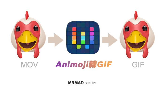 Workflow教學:快速將 Animoji 表情貼圖轉 GIF 圖檔