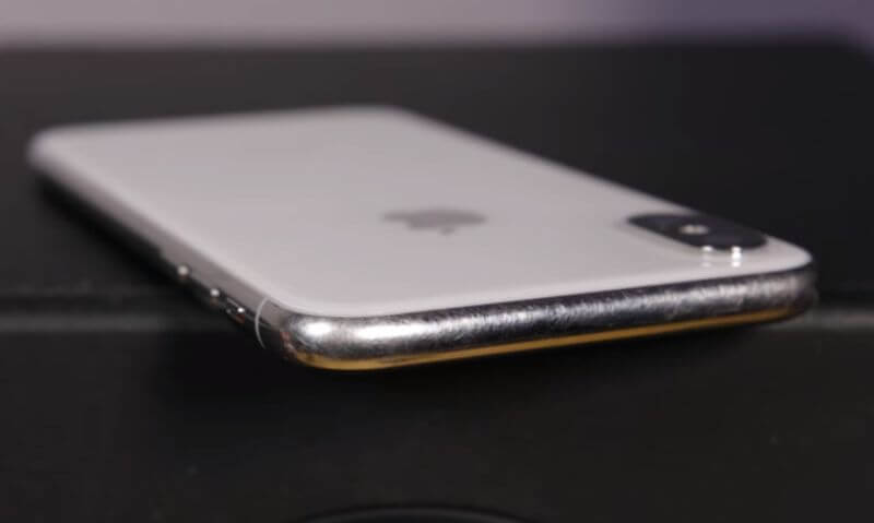 iPhone X 不鏽鋼邊框刮傷?教你超省錢補救技巧