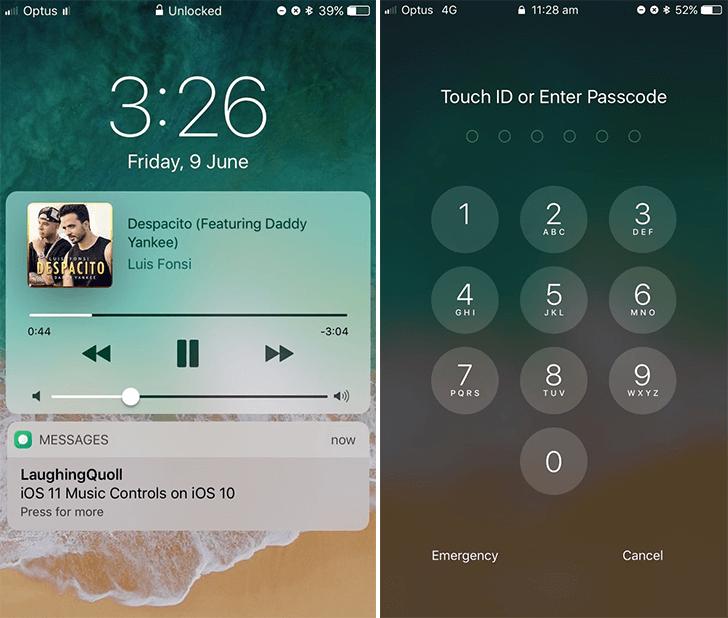 簡單讓iOS10也能實現iOS11解鎖畫面效果 LockscreenXI