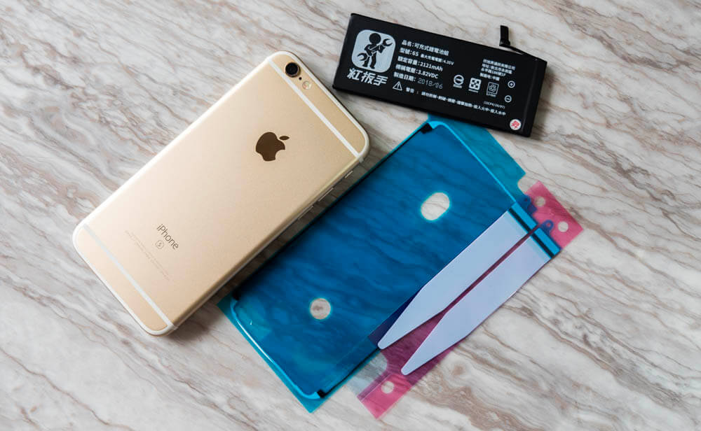 iPhone 換電池該怎麼選?教你自己改裝更換高容量電池技巧 - 瘋先生