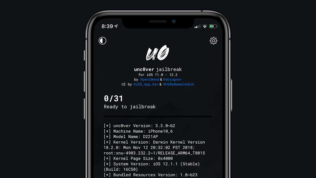 iOS 12.1.3 ~ 12.2越獄工具已經可支援unc0ver。A12 設備需等Chimera - 瘋先生