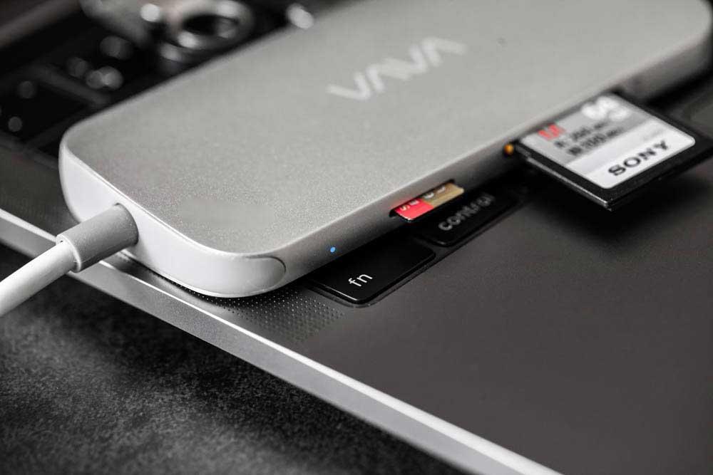 [開箱評價] VAVA 輕薄MacBook集線器VA-UC006 8合1 USB-C MacBook Hub - 瘋先生