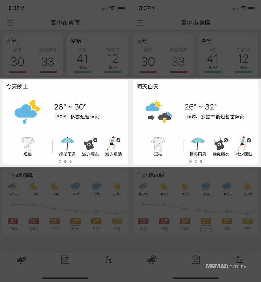 [Android/iOS]最準天氣預報App : 天氣即時預報 - 其他- KTeam論壇