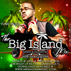 Mr. Magnum DJs and host the Big Island Mix