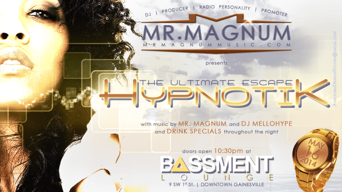Hypnik - Your Monthly Caribbean Party Ritual featuring Mr. Magnum
