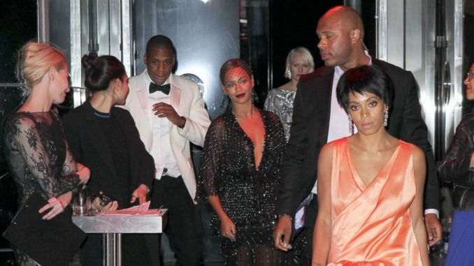 Jay-z Beyonce and Solange Leave Met Gala Separately