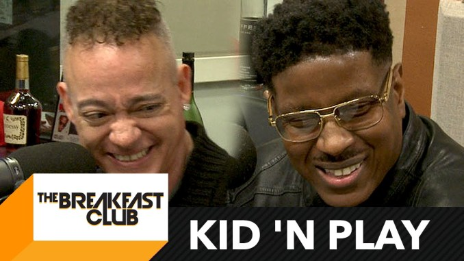 Kid 'N Play Interview w/ The Breakfast Club