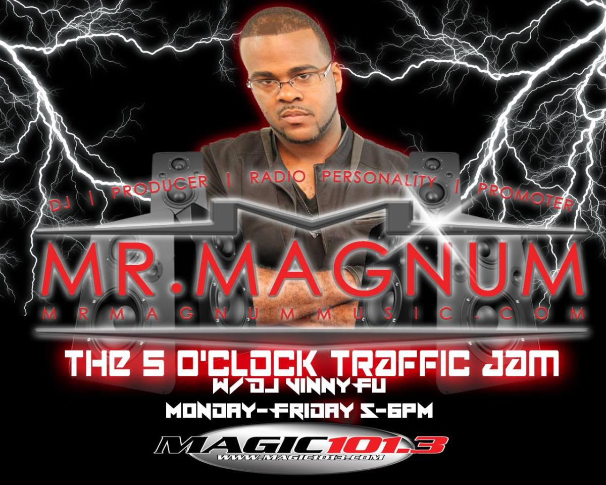 The 5 O'Clock Traffic Jam 1/6/17 on Magic 101.3