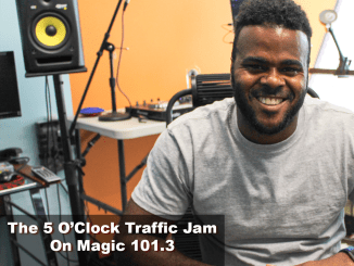 The 5 O'Clock Traffic Jam 20180620 featuring Gainesville's #1 DJ, Mr. Magnum on Magic 101.3