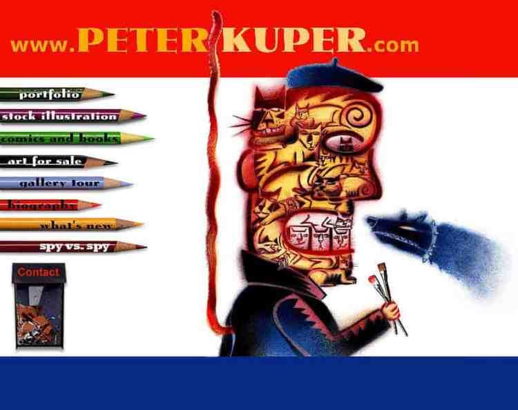 Peter Kuper, graphic novelist, Mr. Media Interviews