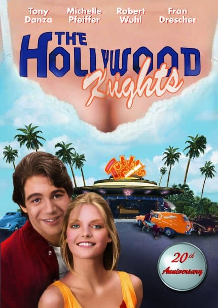 The Hollywood Knights starring Tony Danza, Michelle Pfeiffer, Robert Wuhl, Mr. Media Interviews
