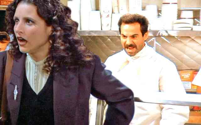 The Soup Nazi, Seinfeld, Elaine, actor, Larry Thomas, Mr. Media Interviews
