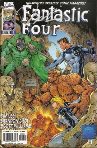 Jim Lee, Fantastic Four, Heroes Reborn, Marvel Comics, Mr. Media Interviews
