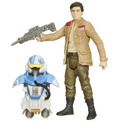 Star Wars The Force Awakens 3.75-Inch Figure Space Mission Armor Poe Dameron (Pilot), Oscar Isaac, Mr. Media Interviews