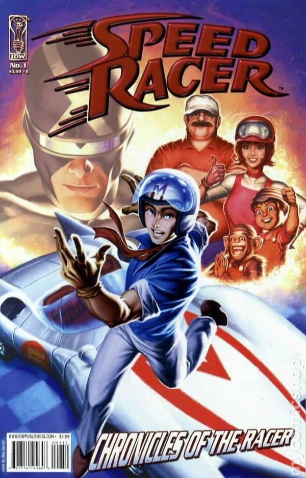 Speed Racer: Chronicles of the Racer, written by Arie Kaplan, Mr. Media Interviews