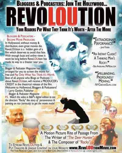 RevoLOUtion, film by Bret Carr, Mr. Media Interviews