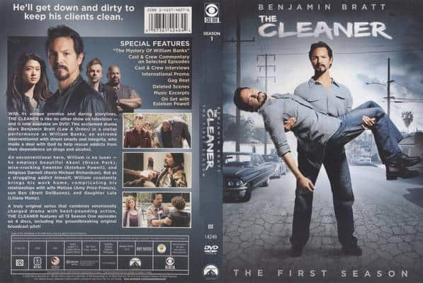 The Cleaner: The First Season starring Benjamin Bratt and Brett DelBuono, Mr. Media Interviews