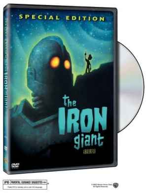 The Iron Giant by Brad Bird, featuring the voices of Harry Connick Jr. and Jennifer Aniston, Mr. Media Interviews