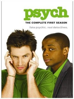 Psych: The Complete First Season starring Dule Hill and James Roday, Mr. Media Interviews