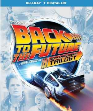 Back to the Future Trilogy on Blu-Ray, starring Michael J. Fox, Christopher Lloyd, Lea Thompson, Mr. Media Interviews