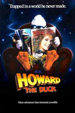 Howard the Duck movie poster, Lea Thompson, Mr. Media Interviews