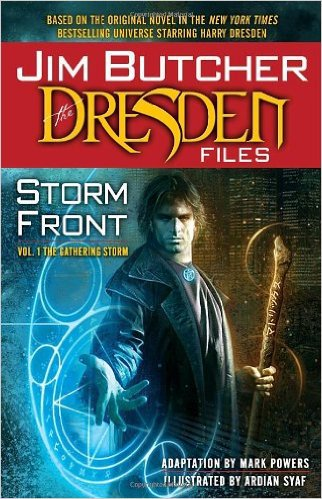 Storm Front: The Dresden Files by Jim Butcher, graphic novel, Mr. Media Interviews