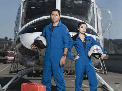 Cliff Curtis, Aimee Garcia star in NBC's 'Trauma,' Mr. Media Interviews