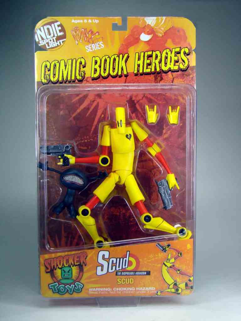 Scud the Disposable Assassin by Shocker Toys, Mr. Media Interviews