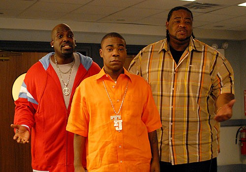 Kevin Dotcom Brown, Tracy Morgan, Grizz Chapman, actors, 30 Rock, Mr. Media interview