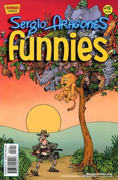 Sergio Aragones Funnies, Bongo Comics, Best Comic Book of 2013, Mr. Media Interview