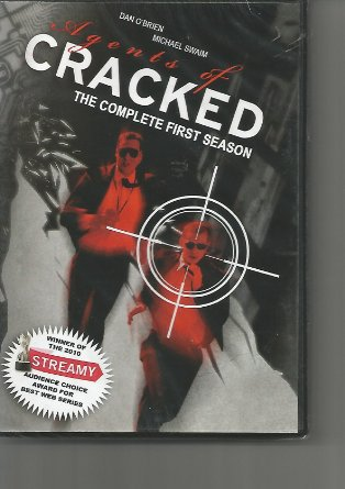Agents of Cracked - The Complete First Season starring Dan O'Brian and Michael Swaim, Mr. Media Interviews