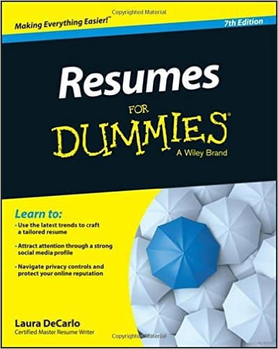 Resumes For Dummies by Laura DeCarlo, 2015 edition, Mr. Media Interviews