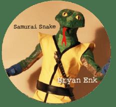 Samurai Snake, Bryan Enk