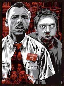 Gallery 1988, Edgar Wright show, Shaun of the Dead, Mr. Media Interview