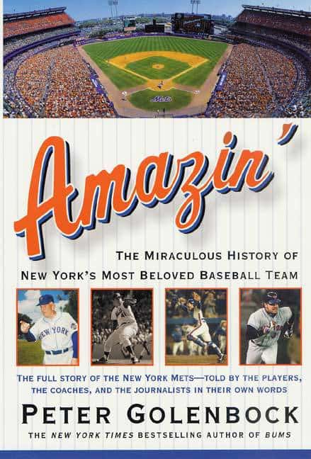 Amazin', New York Mets, Peter Golenbock, writer, Mr. Media Interviews