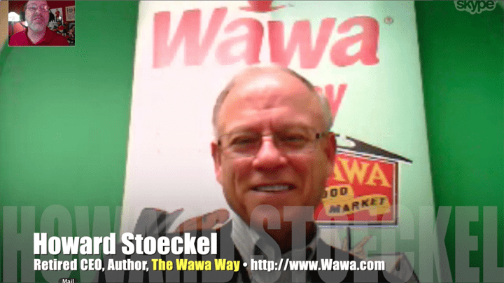 Howard Stoeckel, CEO, Wawa, author, The Wawa Way, Mr. Media Interviews