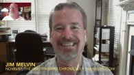Today's Guest: Jim Melvin, fantasy/horror genre novelist The Death Wizard Chronicles   Watch this exclusive Mr. Media interview with fantasy/horror genre novelist Jim Melvin, author of the six-part series The...