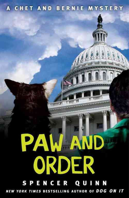 Paw and Order: A Chet and Bernie Mystery, Spencer Quinn, Mr. Media Interviews