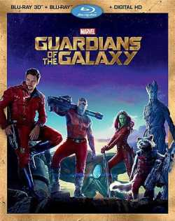 Guardians of the Galaxy Blu-Ray 3D DVD
