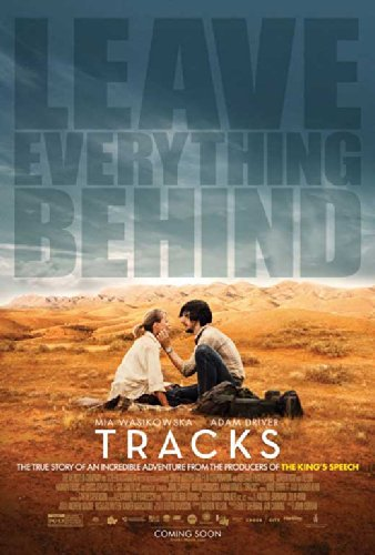 Tracks starring Mia Wasikowska and Adam Driver, poster, Mr. Media Interviews