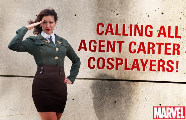 Agent Carter cosplayers, Marvel Comics, Mr. Media Interviews