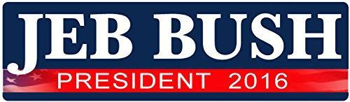 Jeb Bush for President bumper stickers, Mr. Media Interviews
